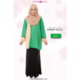Mama Alice | Maternity Blouse | Green