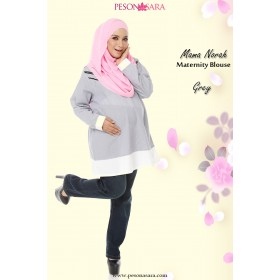 Mama Norah | Maternity Blouse | Grey