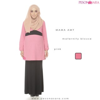 Mama Amy | Maternity Blouse | Pink