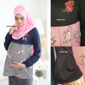 Mama Rozy | Maternity Blouse | Black