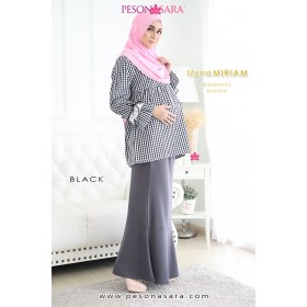 Mama Miriam | Maternity Blouse | Black