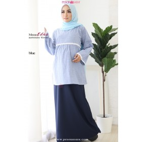 Mama Edna | Maternity Blouse | Blue