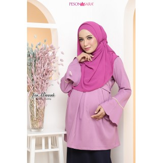 LEIA HANNAH | Blouse | Purple
